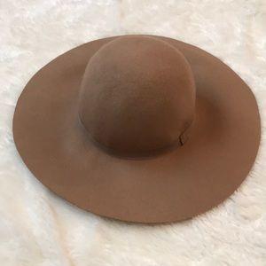 H&M Camel Tan Felt Hat